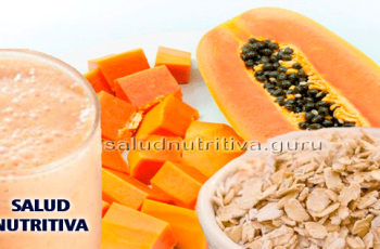 Jugo de papaya con avena para la diabetes